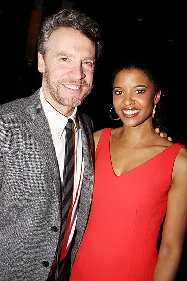 Good People Opening Night – Tate Donovan – Renee Elise Goldsberry