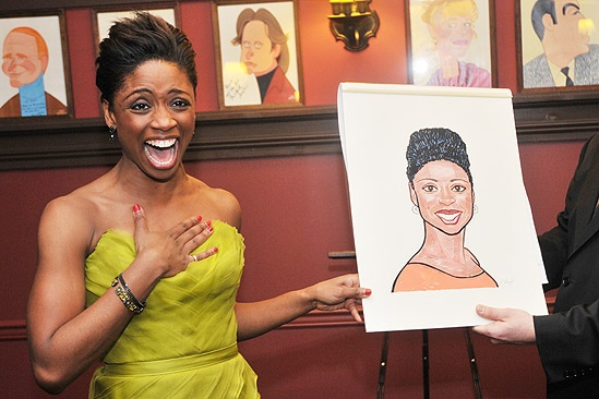 Chad and Montego Sardi's caricatures – Montego Glover