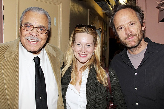 Laura Linney at Driving Miss Daisy  Laura Linney  James Earl Jones  John Benjamin Hickey