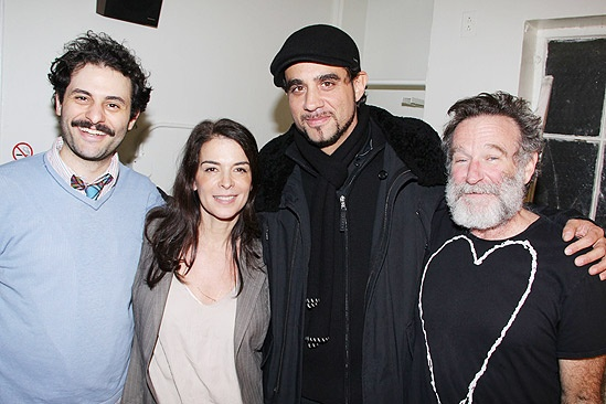 Bobby Annabella Bengal - Arian Moayed - Annabella Sciorra -Bobby Cannavale - Robin Williams