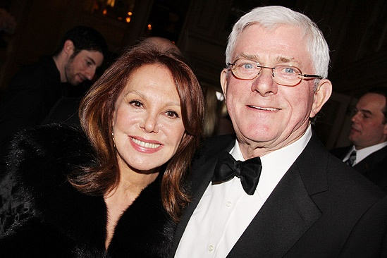 How to Succeed Opening Night – Marlo Thomas – Phil Donahue