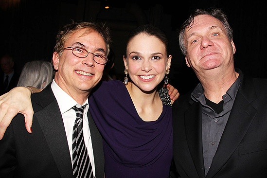 Anything Goes Opening Night – Rob Fisher – Sutton Foster – Jim Carnahan