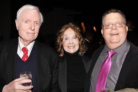 Anything Goes Opening Night – John McMartin - Charlotte Moore – James Morgan