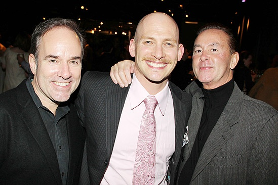 Anything Goes Opening Night  Stephen Flaherty  Justin Greer  Trevor Hardwick