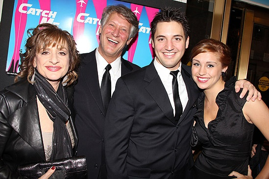 Catch Me If You Can Opening Night – Patti LuPone – Matthew Johnston – Joshua Johnston – girlfriend