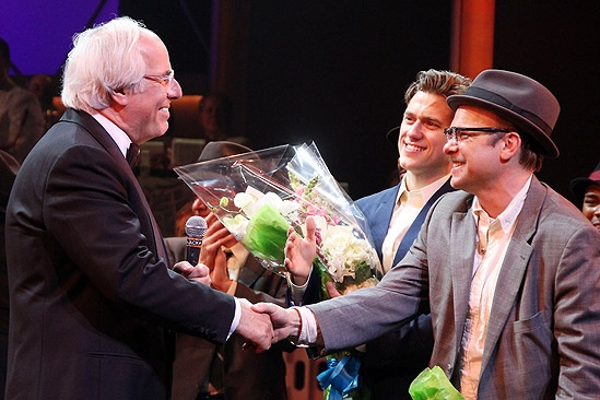 Catch Me If You Can Opening Night – Frank Abagnale Jr. – Aaron Tveit – Norbert Leo Butz