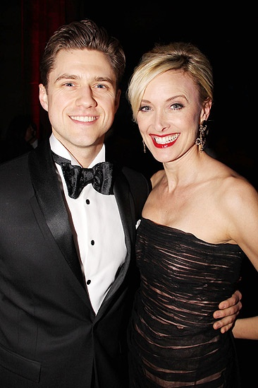 Catch Me If You Can Opening Night – Aaron Tveit – Rachel de Benedet