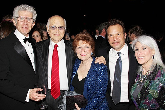 Catch Me If You Can Opening Night  Tony Roberts  Norman Lear  Anita Gillette  Norbert Leo Butz  Jamie deRoy
