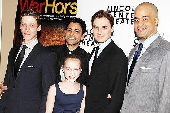 War Horse Opening Night – Zach Appleman – Sanjit De Silva – Madeleine Rose Yen – Seth Numrich – Austin Durant