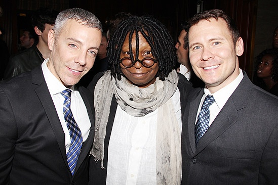Sister Act Opening Night –  Tom Leonardis -  Whoopi Goldberg -  Keith Harris