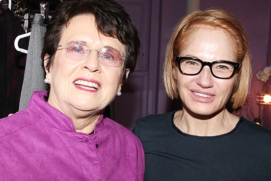 Billie Jean King at The Normal Heart – Billie Jean King – Ellen Barkin