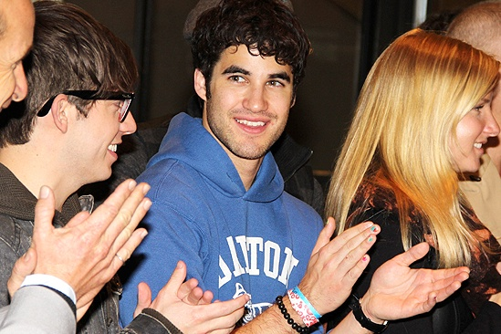 Glee NYC  Darren Criss 2 