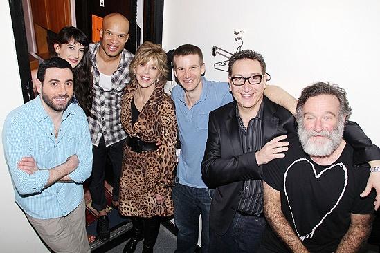 Jane Fonda Bengal – Hrach Titizian – Sheila Vand – Glenn Davis – Jane Fonda – Brad Fleischer – Moises Kauffman – Robin Williams
