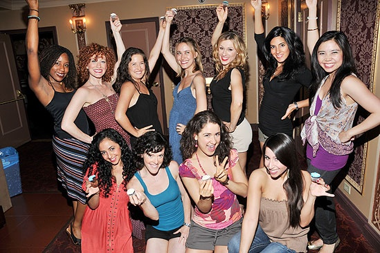 Mamma Mia! 4,000th Performance – female ensemble
