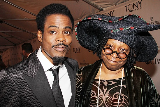 2011 Tony Awards Red Carpet – Chris Rock - Whoopi Goldberg