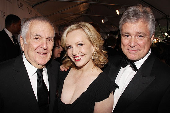 2011 Tony Awards Red Carpet – John Kander - Susan Stroman - David Thompson