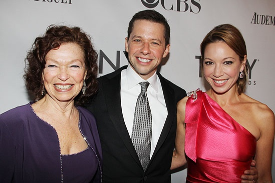 2011 Tony Awards Red Carpet – Gretchen Cryer - Jon Cryer - Lisa Joyner