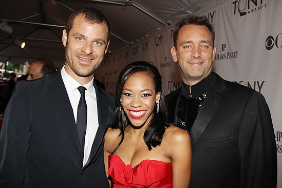 2011 Tony Awards Red Carpet – Matt Stone - Nikki M. James - Trey Parker