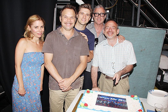 Catch Me If You Can 100th Performance – Kerry Butler – Norbert Leo Butz – Aaron Tveit – Scott Wittman – Marc Shaiman