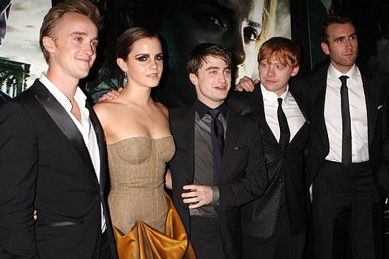 Harry Potter NYC Premiere – Daniel Radcliffe – Emma Watson – Rupert Grint – Tom Felton – Matthew Lewis