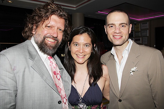 Hair Opening Night 2011- Oskar Eustis – Diane Paulus – Jordan Roth