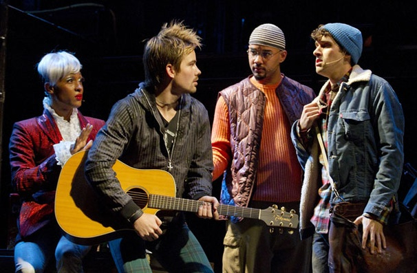 Show Photos - Rent - Michael Rodrigue - Matt Shingledecker - Nicholas Christopher - Adam Chanler-Berat