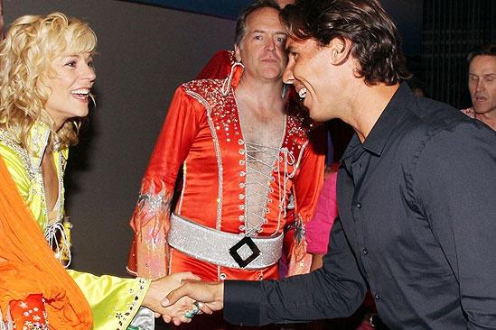 Novak Djokovic and Rafael Nadal at Mamma Mia – Lisa Brescia – Rafael Nadal