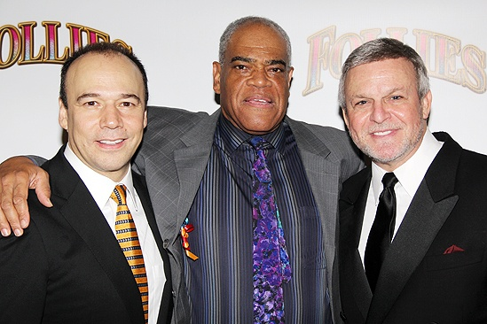 <i>Follies</i> opening night – Danny Burstein – Frederick Strother – Ron Raines
