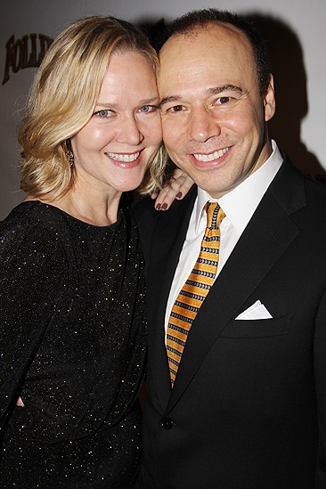 <i>Follies</i> opening night – Rebecca Luker – Danny Burstein