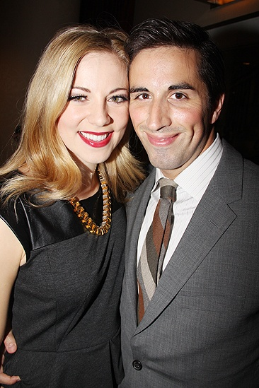 <i>Follies</i> opening night – Kirsten Scott – Matthew Scott
