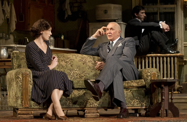 Show Photos - Man and Boy - Virginia Kull - Frank Langella - Adam Driver