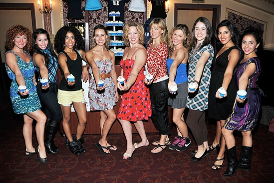 Mamma Mia Cupcake Event  ladies