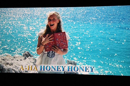 Mamma Mia Sing-Along Screening  Amanda clip