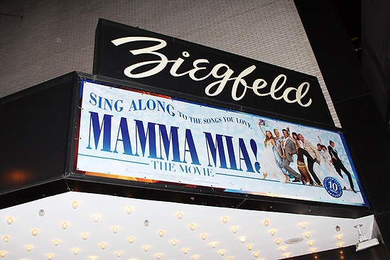 Mamma Mia Sing-Along Screening – marquee