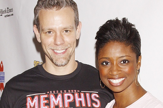 Flea Market 2011 - Adam Pascal - Montego Glover