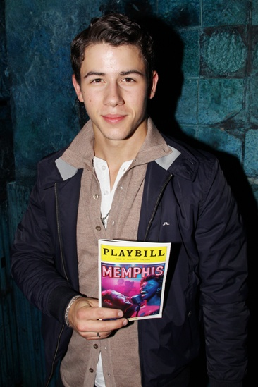 Nick Jonas at Memphis  Nick Jonas
