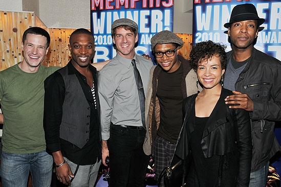 Memphis Second Broadway Anniversary – Cary Tedder – Tyrone Jackson – Bryan Langlitz – Ephraim Sykes – Sydney Morton – Jermaine R. Rembert