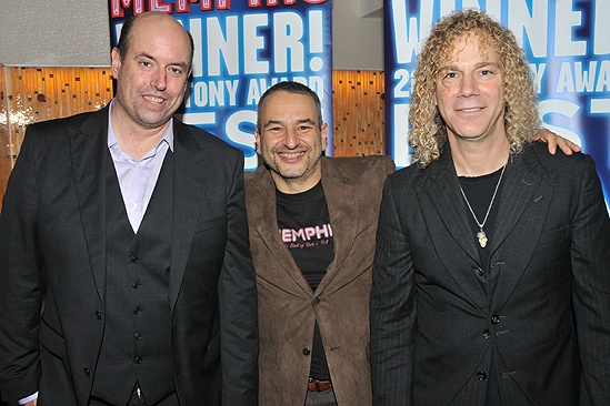 Memphis Second Broadway Anniversary – Christopher Ashley – Joe DiPietro – David Bryan
