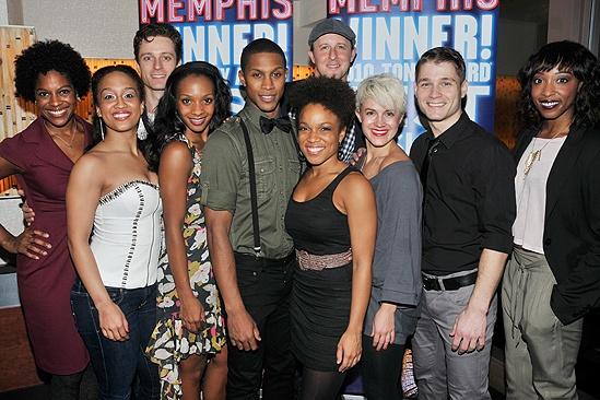Memphis Second Broadway Anniversary – ensemble