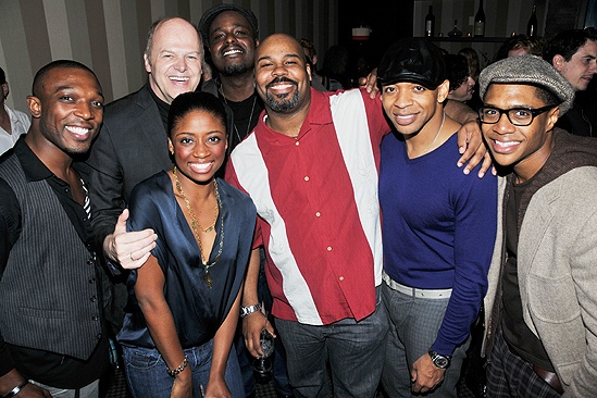 Memphis Second Broadway Anniversary – Tyrone Jackson – Randy Adams – Montego Glover – James Monroe Iglehart – Derrick Baskin – Ephraim Sykes