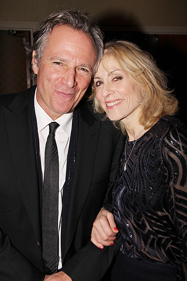 Other Desert Cities Broadway Opening Night  Robert Desiderio  Judith Light