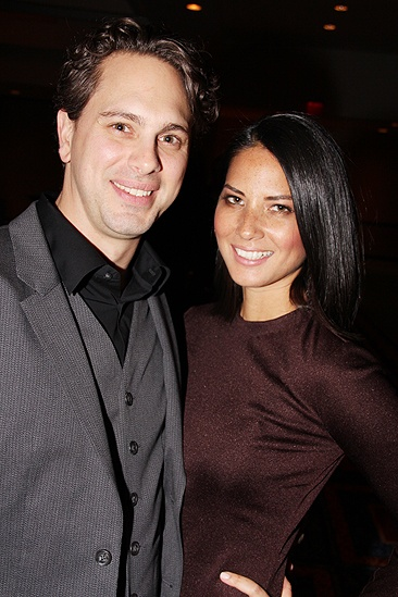 Other Desert Cities Broadway Opening Night  Thomas Sadoski  Olivia Munn