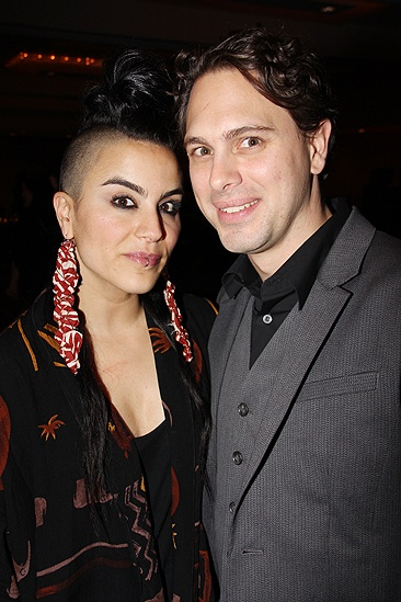 Other Desert Cities Broadway Opening Night – Sonya Tayeh – Thomas Sadoski