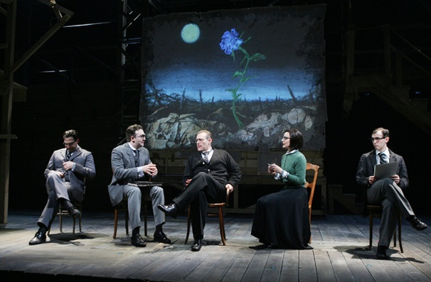 Show Photos - Blue Flower - cast