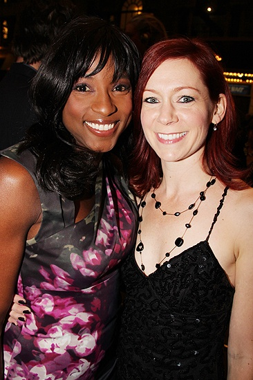 Venus in Fur Broadway Opening Night  Carrie Preston  Rutina Wesley