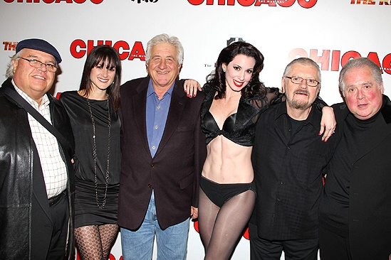 Chicago 15th Broadway Anniversary – group picture