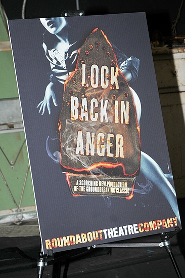 Look Back in Anger – Meet and Greet – promotional poster