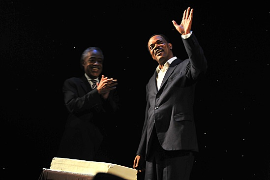 Samuel L. Jackson Mountaintop Birthday Bash  Reverend Al Sharpton  Samuel L. Jackson