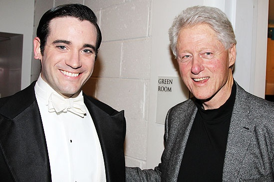 Anything Goes – Bill Clinton Visit – Colin Donnell – Bill Clinton