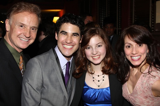 How to Succeed  Darren Criss Opening  Cleve Asbury  Darren Criss  Jacqueline Asbury  Donna Marie Asbury